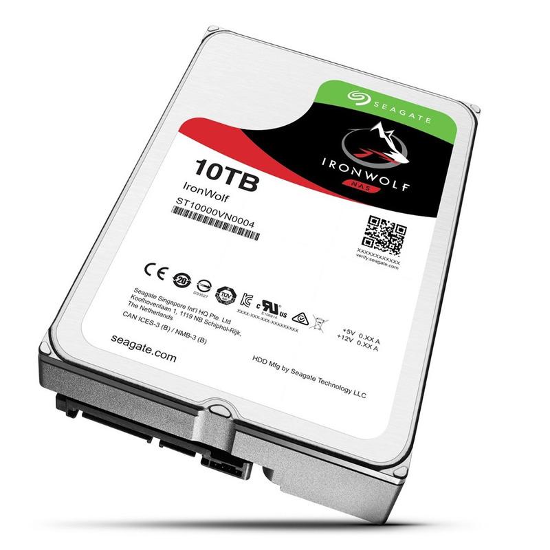 HD 10 TB IronWolf Sata Seagate Original Lacrado