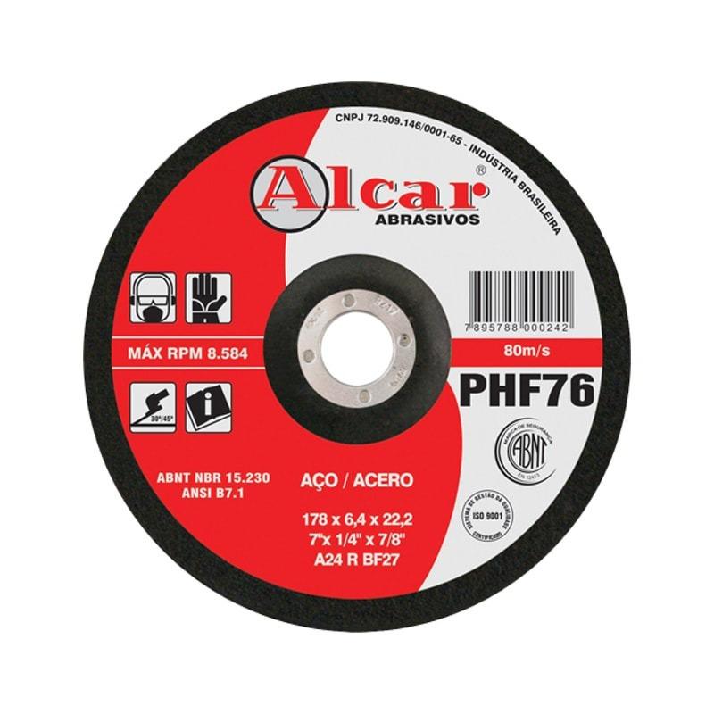 DISCO DE DESBASTE 178X4.0X22.2 PHF70 ALCAR