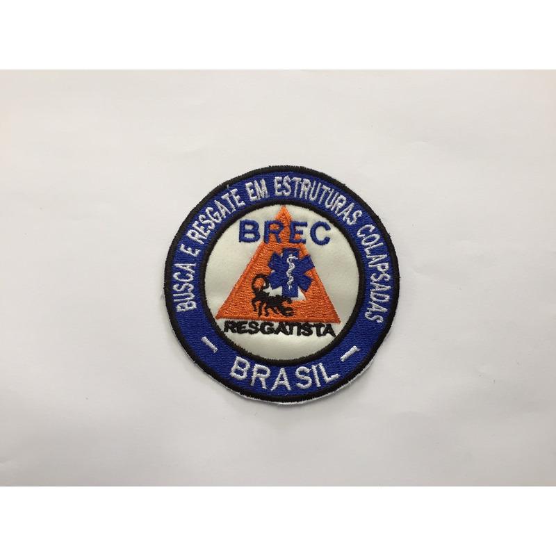 Distintivo Bordado BREC - BRASIL - 02
