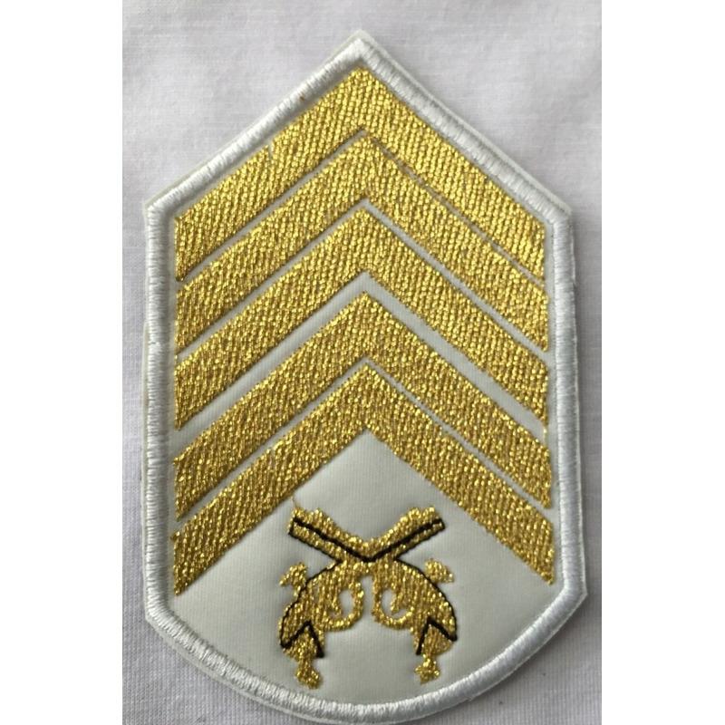 Divisa 1° Sargento  bordada casamento - PAR