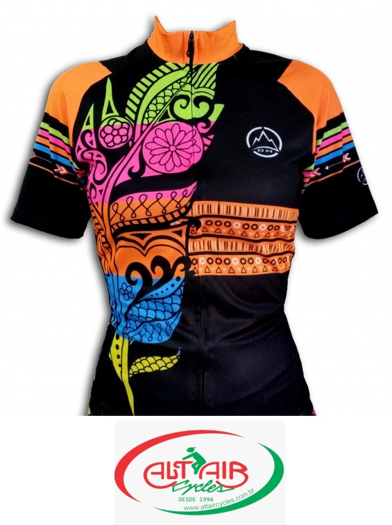 CAMISETA FEMININA CICLISMO BLACK MOUNTAIN