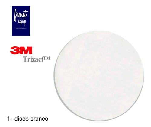 Lixa Polimento Em Vidros Parabrisa 3m Trizact  Branco Original