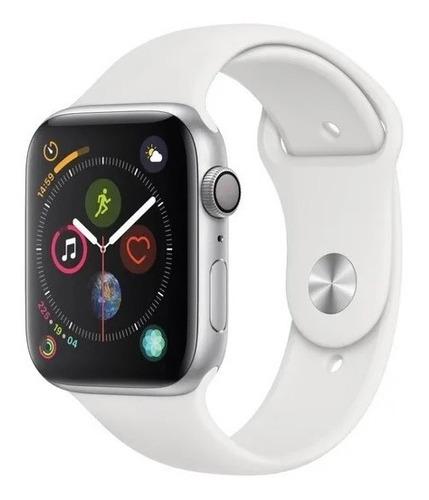 Apple Watch Series 4 44mm Silver Aluminum Band White A13159 Original