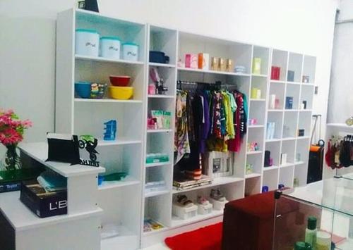 Expositor De Loja (3) + Balcão Caixa Com Gaveta Magia 4 Peça Original