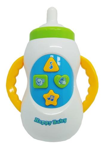 Brinquedo Mamadeira Musical Bebê Infantil Sons E Canções Original