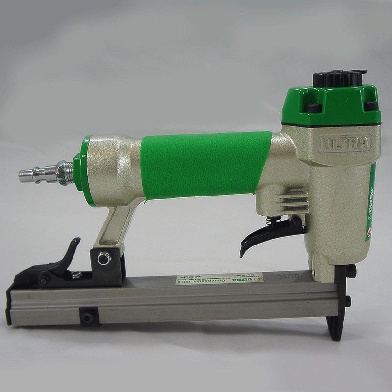 Kit Combo Grampeador Pneumático 80 + Grampos de 6mm - Ultra