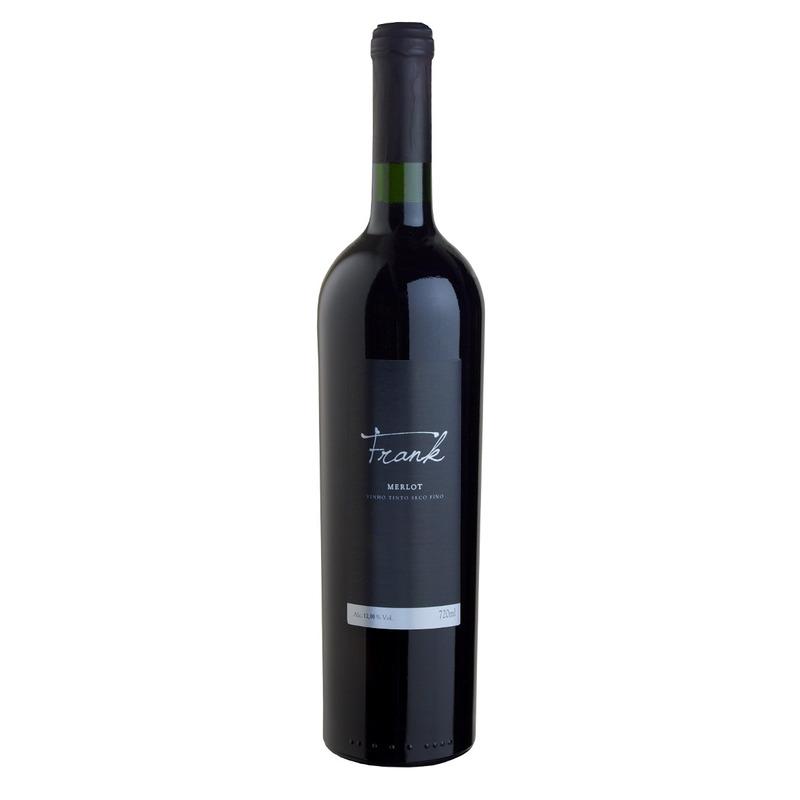 Vinho Fino Tinto Merlot 720ml - Frank