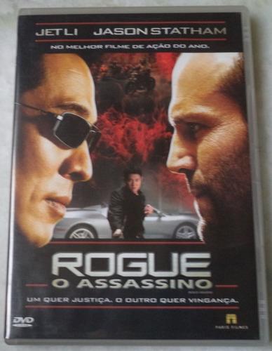 Dvd  Rogue O Assassino U Original