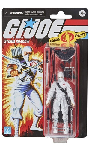Figura G.i. Joe Retro Collection Storm Shadow - 3.75 Hasbro Original