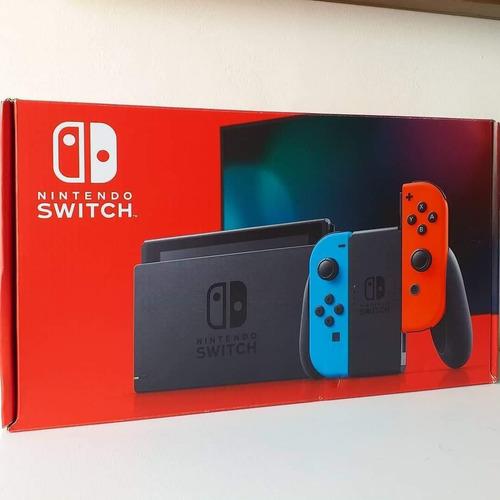 Console Nintendo Switch ( Novo Modelo Bateria Otimizada ) Original