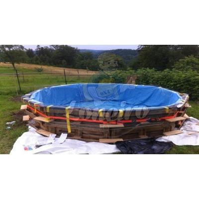 Lona 9x5 mt forte resistente p piscina de pallet manta for Lonas para piscinas baratas