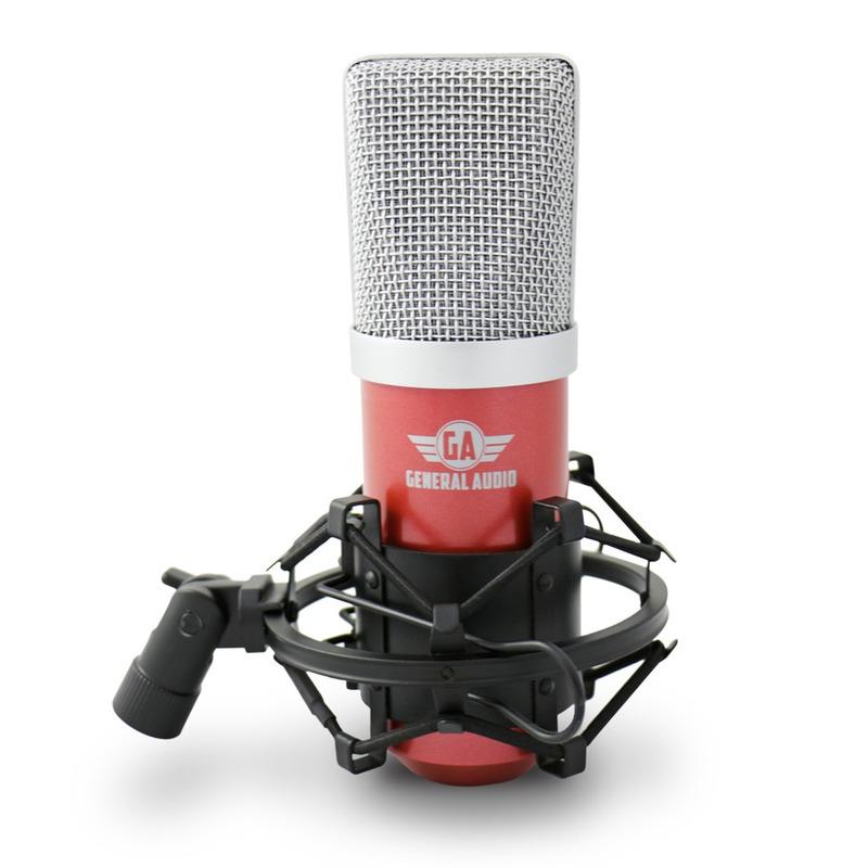 Kit Arcano Mic Condensador Usb Ga Red + 1 Pedestal + 1 Am-f1