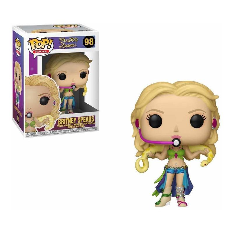 Britney Spears Slave 4U Pop Funko #98 - Pop! Rocks