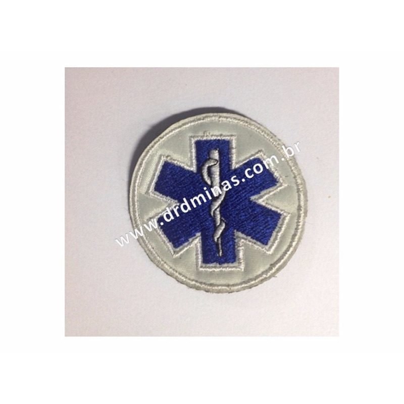 Patch / Distintivo Bordado Resgate - II - U