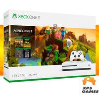 Console Xbox One S 1TB - Minecraft - Microsoft