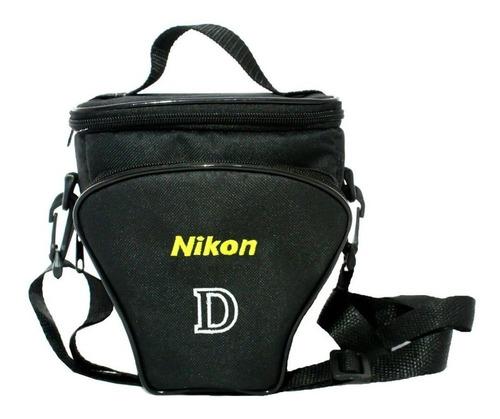 Bolsa Case Triângulo Para Câmeras Dslr Canon / Nikon Original