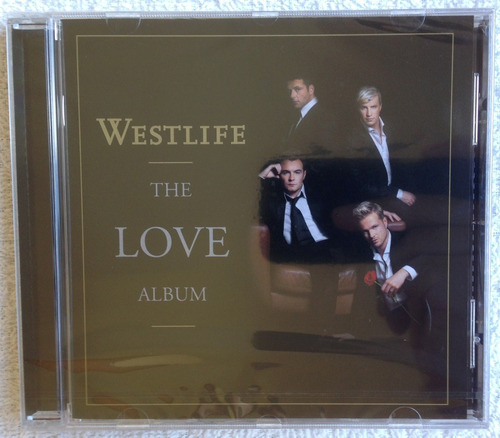 Cd Importado Westlife The Love Album (2006) Lacrado Raridade Original