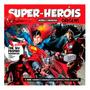 Livro Super Heróis Origens Histórias Curso De Desenho