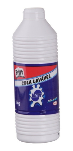 Cola Branca Liquida Tenaz 1kg  - Henkel Original