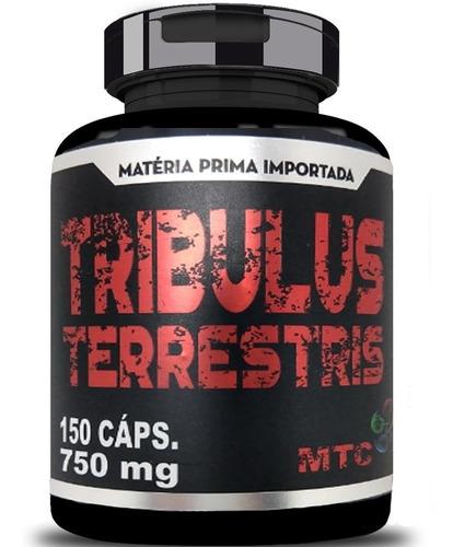 Tribulus Terrestris 150 Capsulas  Extrato Puro  Original