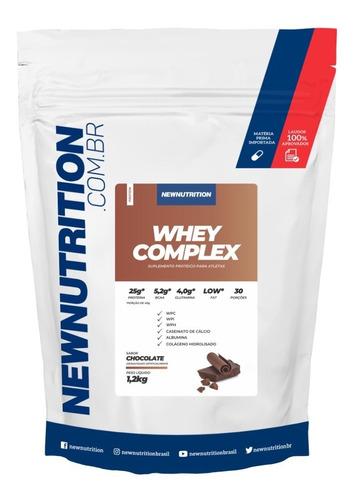 Whey Complex Blend De Proteina 1,2kg Newnutrition Original