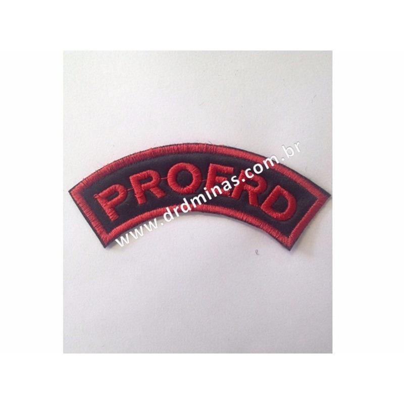 Distintivo Bordado PROERD - III