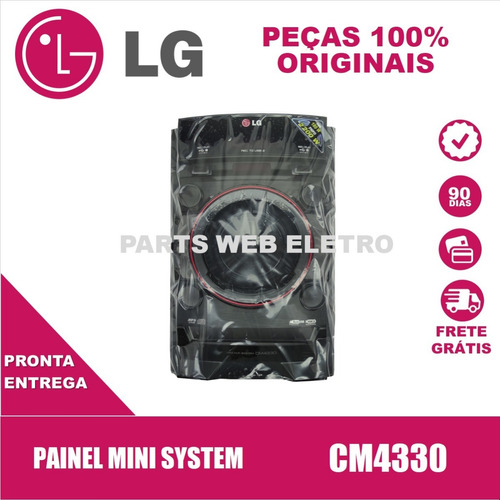 Painel Mini System LG Cm4330 - Agl74140401 Original