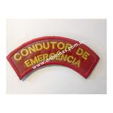 Patch / Distintivo Bordado Condutor de Emergência - U