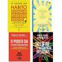 Kit Livros O Poder Do Hábito 3 Livros