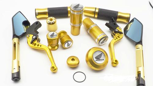 Hornet Kit Sliders Motor Tampas Espelho Manete Manopla Peso