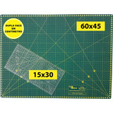 Base Corte A2 60x45 Régua Laser 15x30 Patchwork Scrapbook