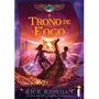O Trono De Fogo. As Crônicas Dos Kane. Livro De Rick Riordan