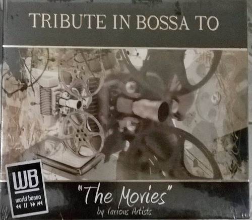 Cd Tribute In Bossa To - The Movies - Lacrado De Fábrica Original