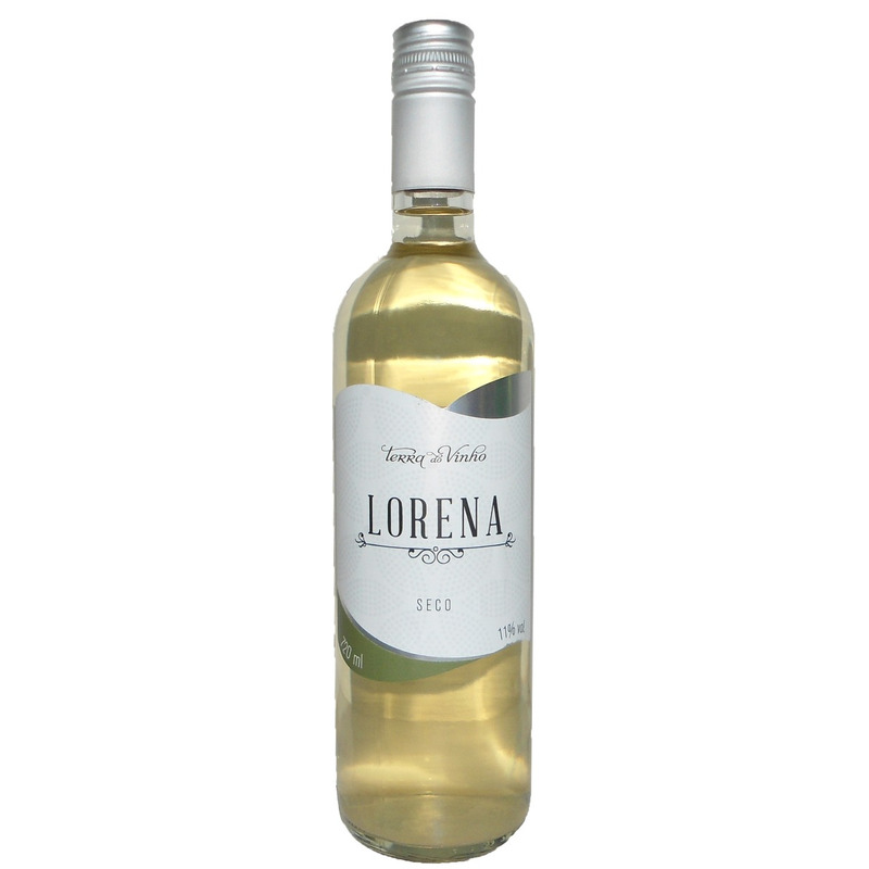 Vinho Fino Branco Lorena Seco 720ml - Adega Terra do Vinho
