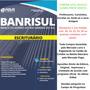 Apostila Banrisul 2018 Escriturário (kit C/ 30 Unidades)