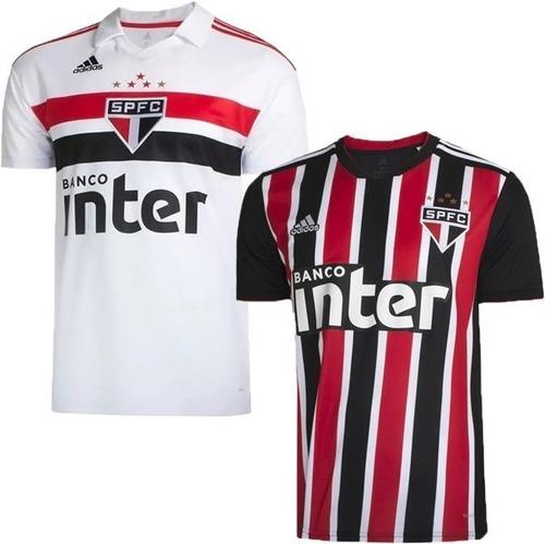 Kit 2 Camisas São Paulo 2018-original-frete Gratis