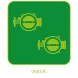 Habilitação da função Dual ETC Electronic Throttle Control ( Controle Duplo de Borboleta Eletronica ) para PR-8