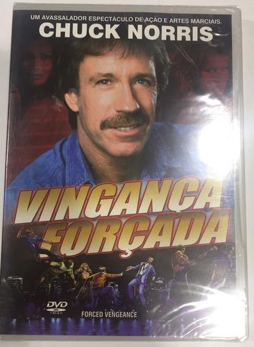Dvd Vingança Forçada - Chuck Norris - Novo E Lacrado
