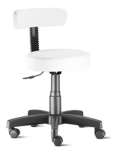 Cadeira Mocho Estética, Fisioterapia, Odontologia Slim Original