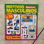 Revista Motivos Masculinos 125 Gráficos Ponto Cruz Esportes
