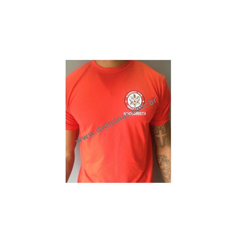 Camisa Bombeiro Civil Socorrista- Bordada