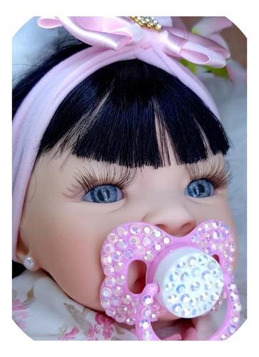 Bebe Reborn Menina  Aproveite Enxoval Linda Original