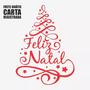 Adesivo Árvore Feliz Natal 45cm P/ Geladeira Porta Etc A244