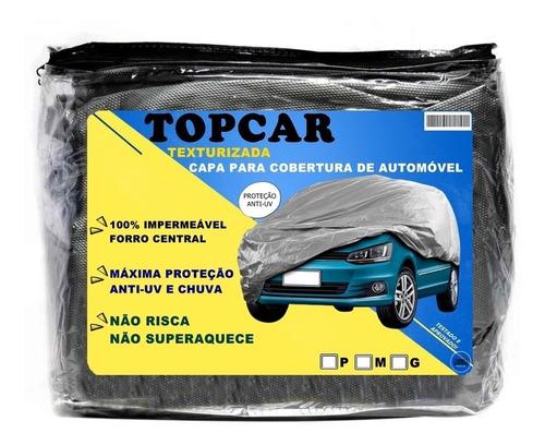Capa Para Carro Impermeável Proteção Anti Uv Sol E Chuva Original