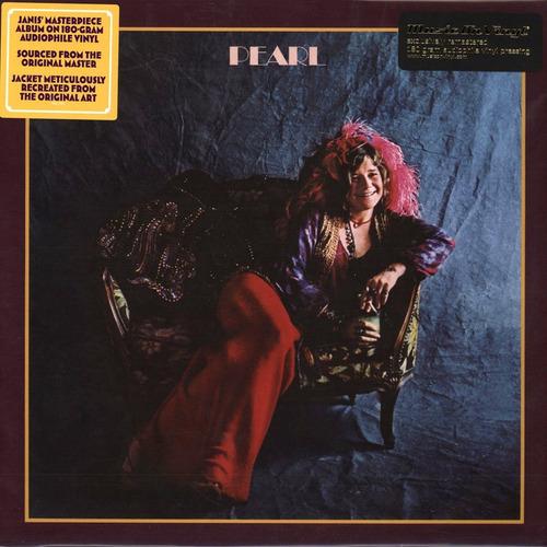 Lp Janis Joplin - Pearl Remasterizado Importado 180g Lacrado