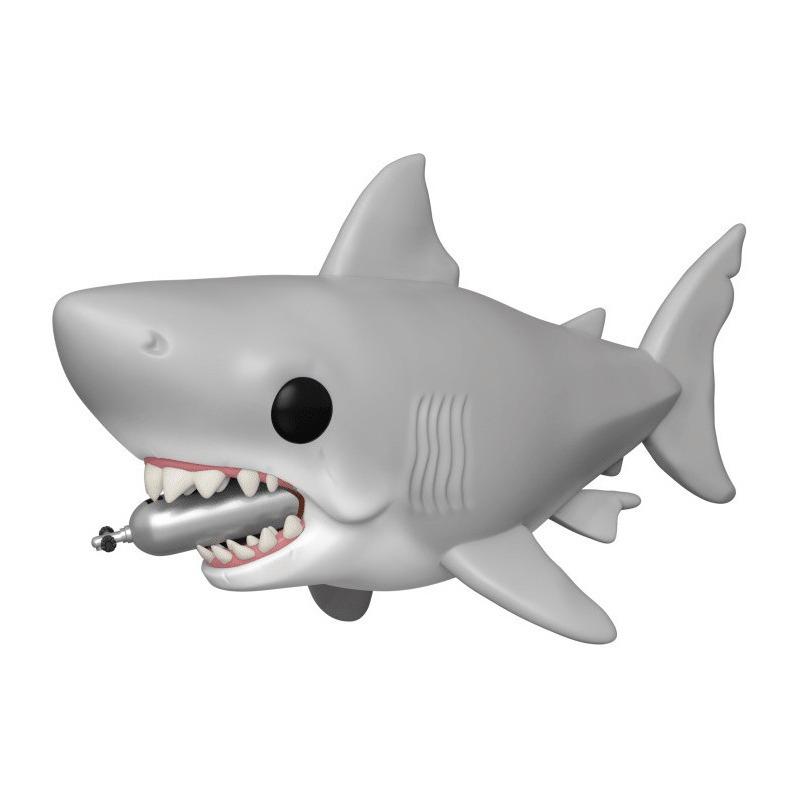 Great White Shark w/ Diving Tank Pop Funko #759 -  Tubarão - Jaws 15 cm