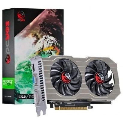 Placa Vídeo Pcyes Nvidia Geforce Gtx 750ti 2gb Gddr5 128bits Original