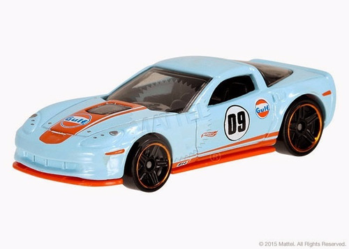 Hot Wheels '09 Corvette Zr1 Azul Race 12/2015 Lacrado Original