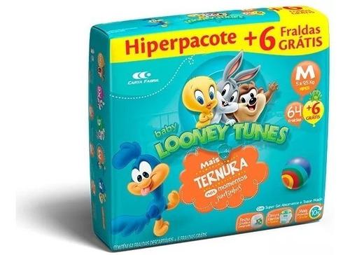 Fralda Descartável Infantil Atacado Looney Tunes Baby M Original