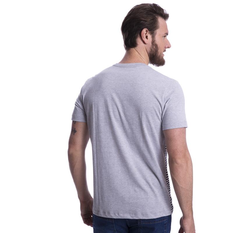 Camiseta Long Island Listrada Mescla